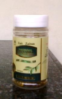 minyak zaitun extra virgin kapsul kesehatan kecantikan kulit wajah menurunkan kolesterol jantung diabetes