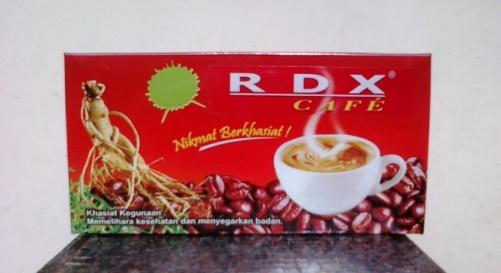 RDX cafe radix kopi tongkat ali purwoceng ganoderma murah grosir diskon reseller laris herbaten pusat herbal online